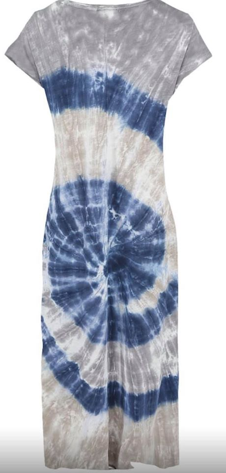 tie dye dress back